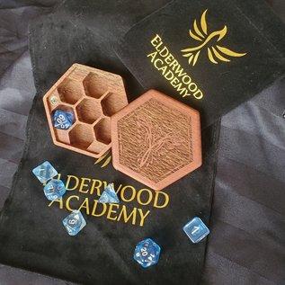 Elderwood Academy Hex Chest: Phoenix, Lacewood