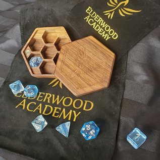 Elderwood Academy Hex Chest: Phoenix, Walnut
