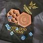 Elderwood Academy Hex Chest: Prague Clock, Mahogany