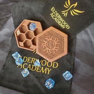 Elderwood Academy Hex Chest: Spike Star, Mahogany