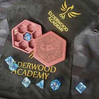 Elderwood Academy Hex Chest: Wizard, Purpleheart