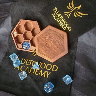Elderwood Academy Hex Chest: Yggdrasil, Mahogany