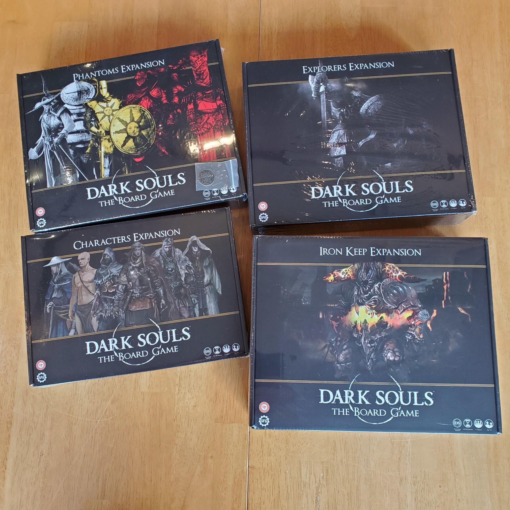 Dark Souls Board Game Kickstarter Stretch Goals Wave 3 Expansions New