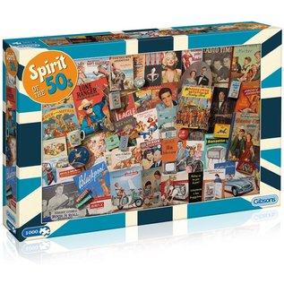 Puzzle: 1000 Spirit of the 50s