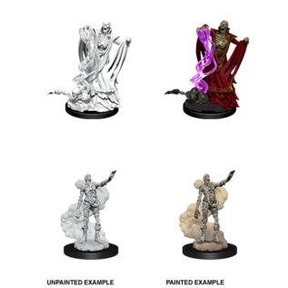 D&D Nolzurs Marvelous Unpainted Miniatures: Wave 11: Lich & Mummy Lord