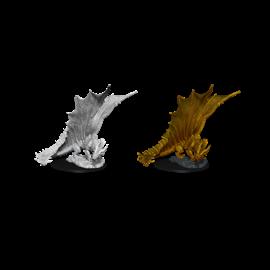 D&D Nolzurs Marvelous Unpainted Miniatures: Wave 11: Young Gold Dragon