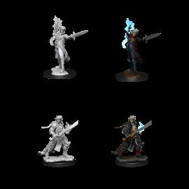 Pathfinder Deep Cuts Unpainted Miniatures: Wave 11: Male Elf Magus
