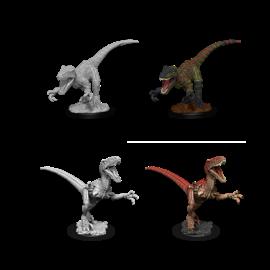 WizKids Deep Cuts Unpainted Miniatures: Wave 11: Raptors