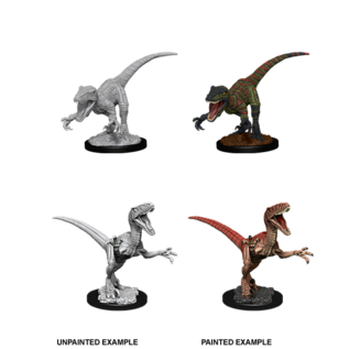 WizKids Deep Cuts Unpainted Miniatures: Wave 11: Raptors