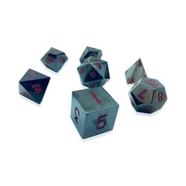 Norse Foundry Metal Dice: Nightmare Black