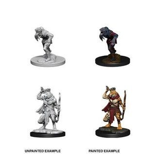 D&D Nolzurs Marvelous Upainted Miniatures: Wave 11: Wererat & Weretiger