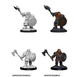 D&D Nolzurs Marvelous Upainted Miniatures: Wave 11: Male Dwarf Fighter