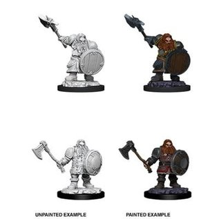 D&D Nolzurs Marvelous Upainted Miniatures: Wave 11: Male Dwarf Fighter