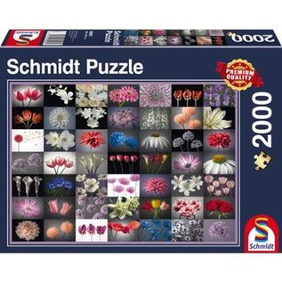 Puzzle: 2000 Floral Greeting