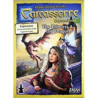 Carcassonne: Expansion 3 - The Princess & the Dragon
