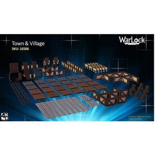 Warlock Tiles: Town & Village 1
