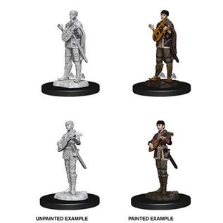D&D Nolzurs Marvelous Unpainted Miniatures: Wave 7: Half-Elf Female Bard