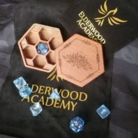 Elderwood Academy Hex Chest Remastered: Lotus, Leopardwood