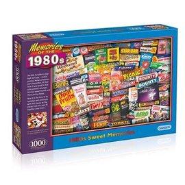 Puzzle: 1000 1980s Sweet Memories