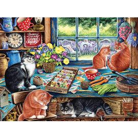 Puzzle: 500 Cats Retreat