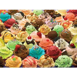Cobble Hill Puzzle: 500 More Ice Cream Please