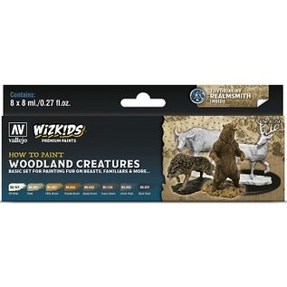 Vallejo: Wizkids Premium Paint Set Woodland Creatures