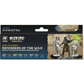 Vallejo: Wizkids Premium Paint Set Defenders of the Realm