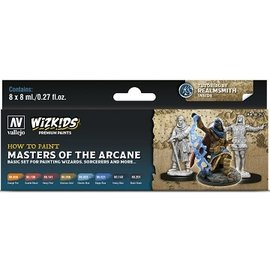 Vallejo: Wizkids Premium Paint Set Masters of the Arcane