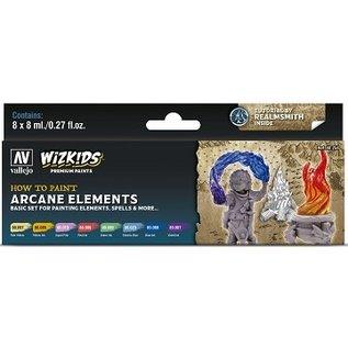 Vallejo: Wizkids Premium Paint Set Arcane Elements