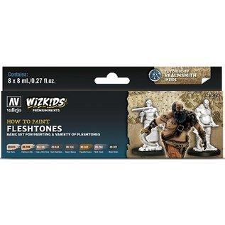 Vallejo: Wizkids Premium Paint Set Fleshtones