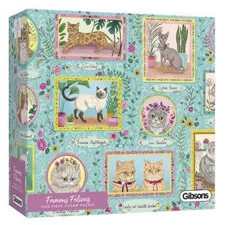 Puzzle: 1000 Famous Felines
