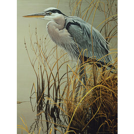 Cobble Hill Puzzle: 500 Great Blue Heron