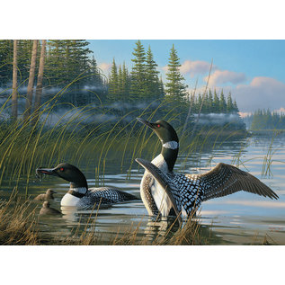 Puzzle: 1000 Common Loons