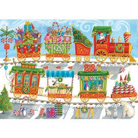 Puzzle: 350 Christmas Train