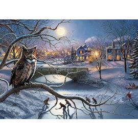 Puzzle: 1000 Barn Owls
