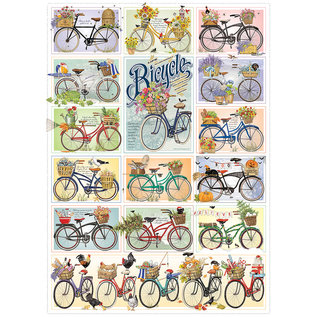 Cobble Hill Puzzle: 1000 Bicycles