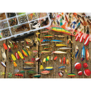 Cobble Hill Puzzle: 500 Fishing Lures