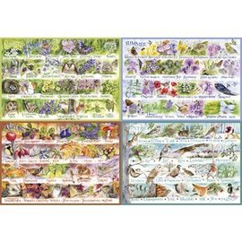 Gibsons Puzzle: 2000 Woodland Seasons
