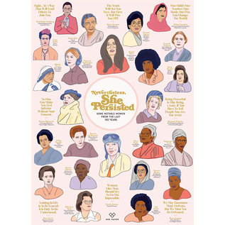 Cobble Hill Puzzle: 1000 Nevertheless She Persisted