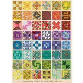 Cobble Hill Puzzle: 1000 Common Quilt Blocks