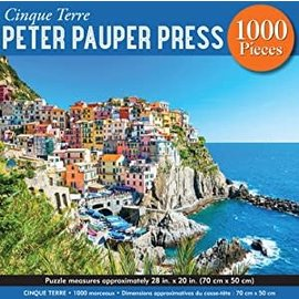 Peter Pauper Press Puzzle: 1000 Cinque Terre