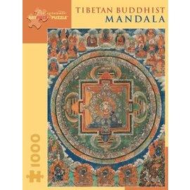 Pomegranate Puzzle: 1000 Tibetan Budhist Mandala
