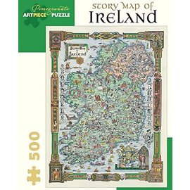 Pomegranate Puzzle: 500 Story Map of Ireland