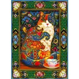 Willow Creek Puzzle: 1000 Painted Cat
