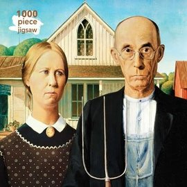 Flametree Puzzle: 1000 American Gothic