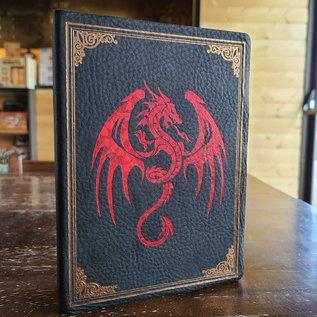 Elderwood Spellbook: Foil - Red/Bronze Winged Dragon