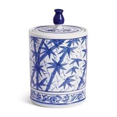 Dynasty Bamboo Lidded Jar