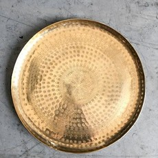 Small Moroccan Tray Gold