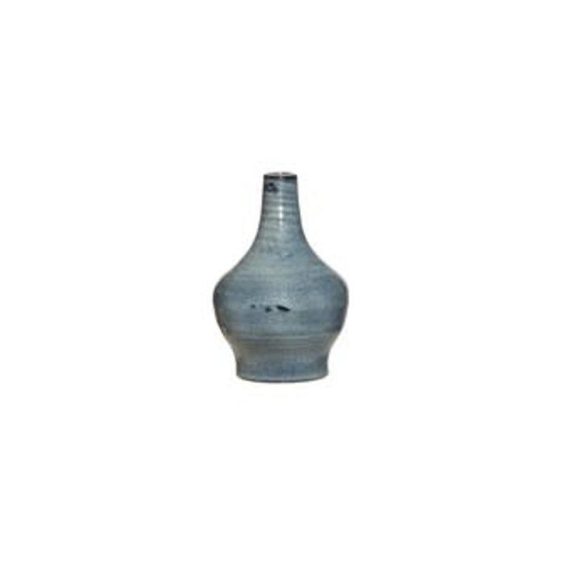 Blue Terra Cotta Vase, Small