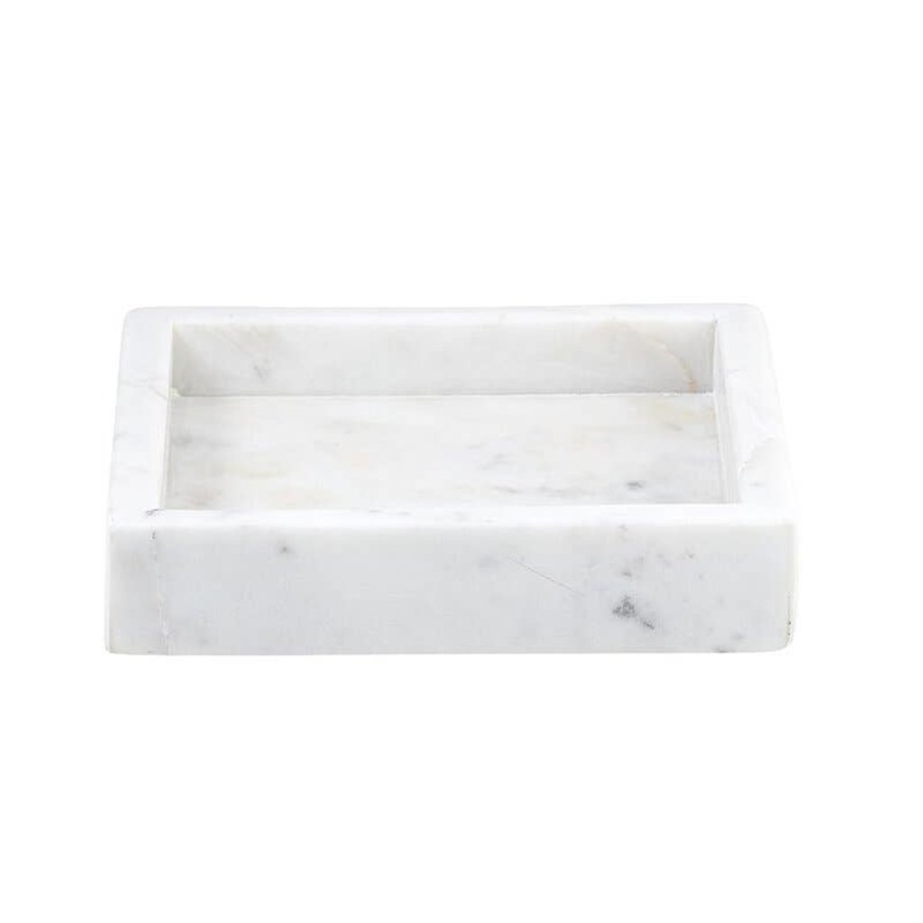 White Square Marble Tray